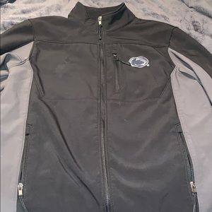Men's Zip Up Penn State Nittany Lions Jacket Large